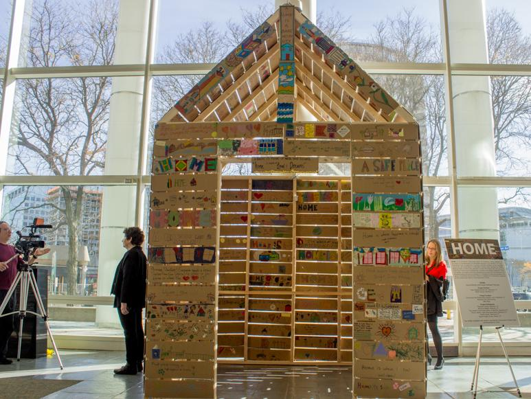 Home Public Art Installation Opens In Stamford City Hall