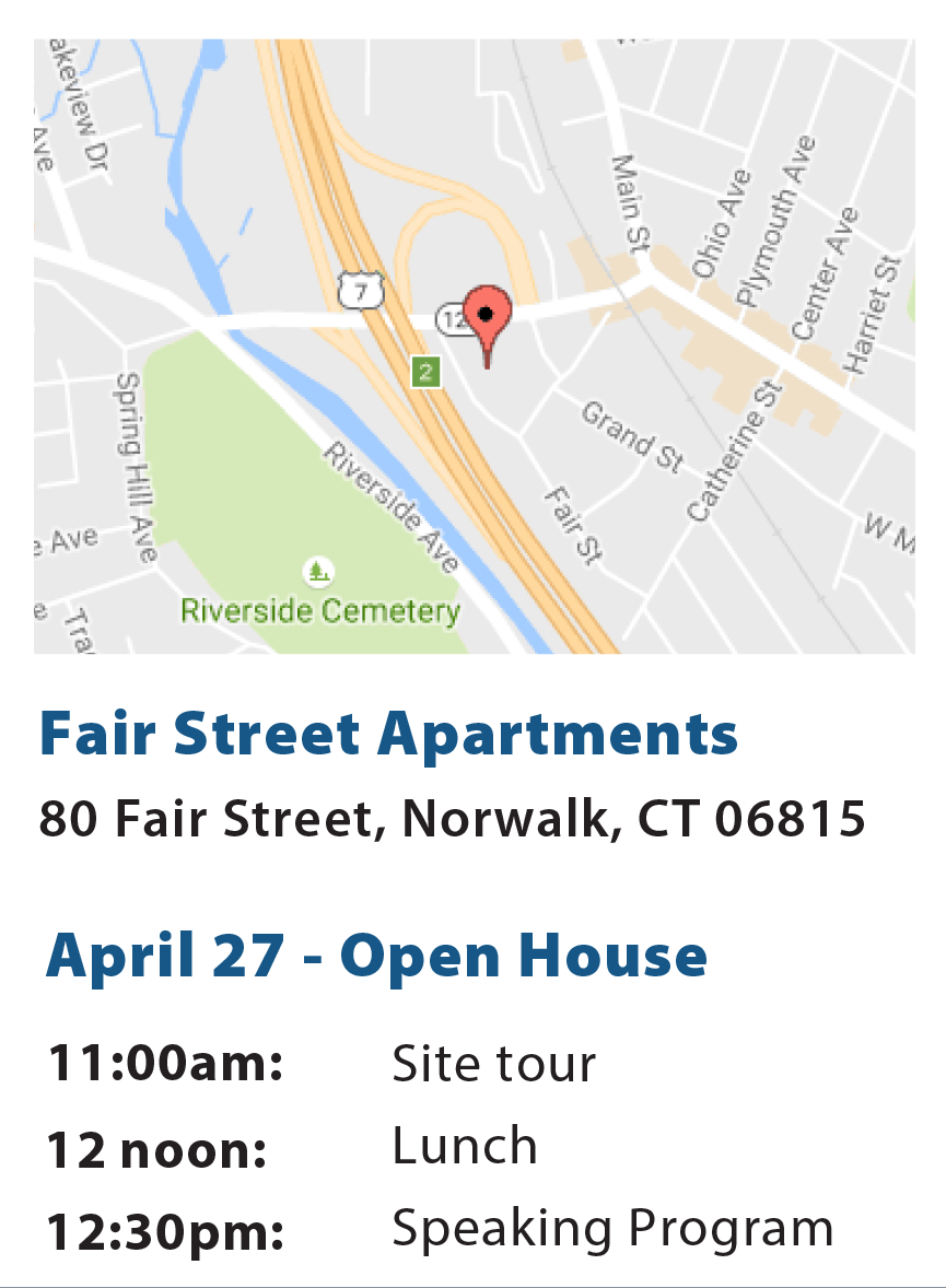 Graphic about Fair Street Apartments Tour